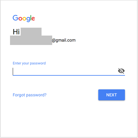 Gmail log in.